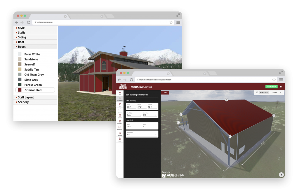 Custom Designed Modular Barns And Buildings Md Barnmaster